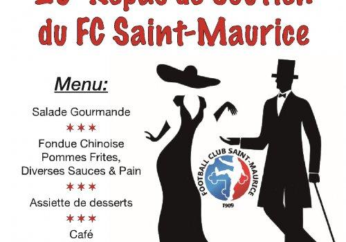 Repas de soutien du FC St-Maurice